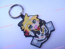 2014 new design Japanese design Soft pvc keychains,promotion keychains,cartoon keychains