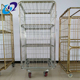 Supermarket Warehouse Steel Roll Container Roll Cages