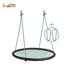 garten furniture nylon mesh net patio swing kids singel swing