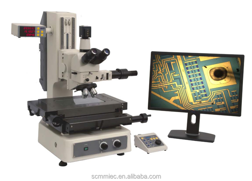 SC-SQM High Resolution XYZ readout FA(Focus Auxiliary) motorized Non-Contact Industrial measuring microscope