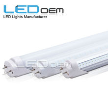 indoor lighting T8 4 feet tube Frosted Lens,18 Watts, Equivalent to 32W Fluorescent
