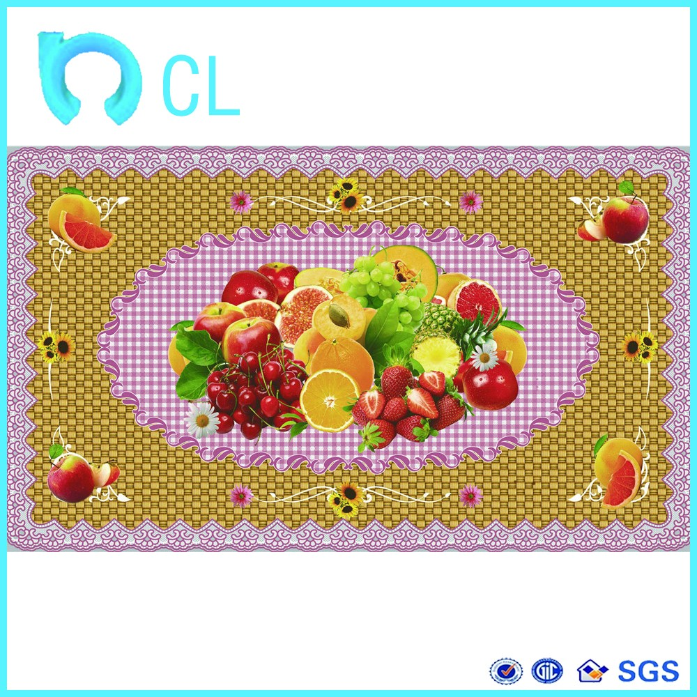 New lace table cloth film soft PVC shrink film label printing machine