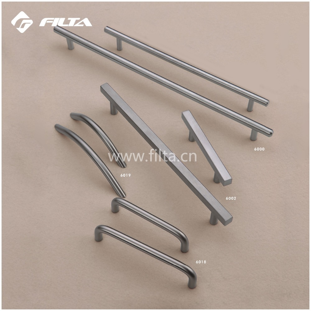 hot sale general modern furniture hardware t bar stainless steel furniture handles