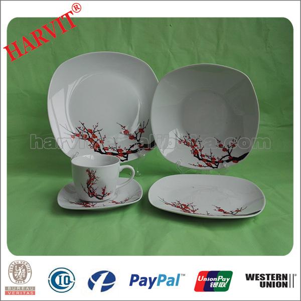 Most Popular Ceramic Dinnerware Set2016 Latest Porcelain Dinner Sets Cheap - Buy Wholesale Dinner & 16pc handpainted dinner set_Yuanwenjun.com