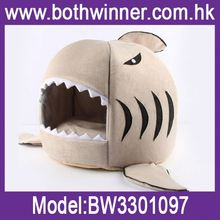 Dog house bed ,h0t7B soft cozy pet bed house for sale