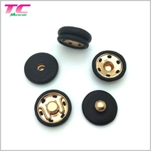 Hotsale For Super September Purchasing 20MM Leather Covered Snap Button Cover Button