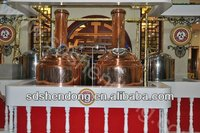 Complete small beer brewery equipment for sale include beer canning equipment