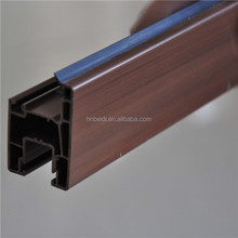Cheap price plastic pvc profile for sliding windows puertas y ventanas porte fenetre upvc profile