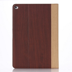 Super quality OEM leather flip case for ipad 6