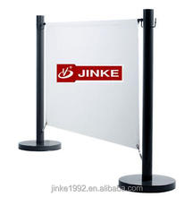 Jinke Outdoor Advertising Cafe Barrier/Stable sidewalk Wind Break Systems