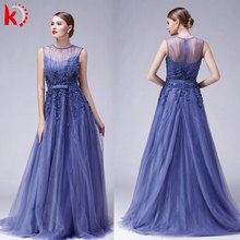 China suppliers chothing 2016 tulle sleeveless elegant sequins long maxi vestidos de novia evening wedding dress