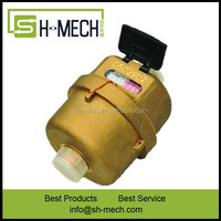 Promotional piston domestic plastic water meter box