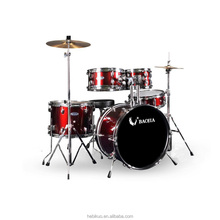 BJ11651 5pcs Hot-sale Favorite High Quality Musical Instrument Kids Drum Set