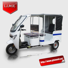 electric tricycle for passenger new CNG model