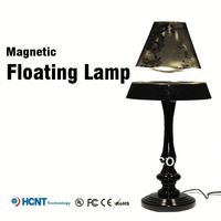 2013 New design !Magnetic floating lamp ,hand painted glass lamp shades