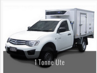 Mitsubishi box type mobile Refrigerated truck