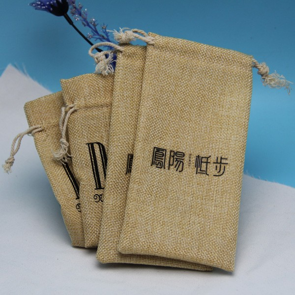 Best Work Printed Jute Bag Manufacturer in kolkata, Jute Pouches