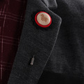 Korea Badge Brooch High Quality Christmas Brooch Pins For Mens Suits Shirt