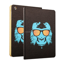 2017 Beautiful Pattern, shockproof, full page series leather case for ipad4