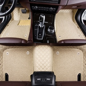 3d Leather car mats fit for Land Cruiser Pick-up 2010-1019