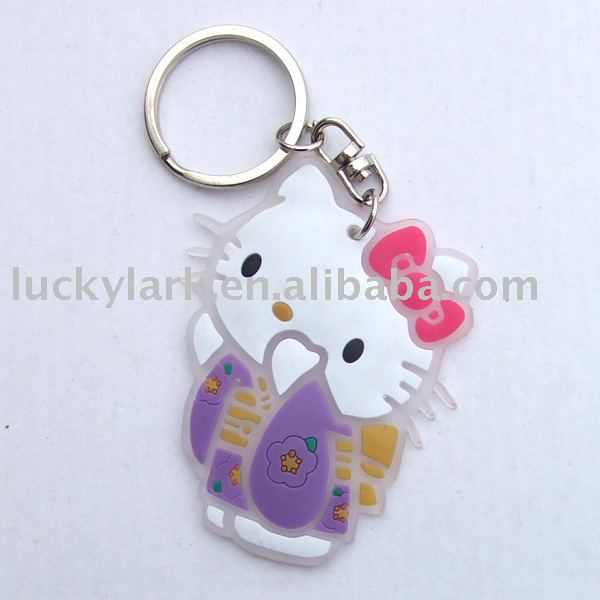 Kitty key chain