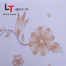 Korea The Lamination decorative film Wall Paper Design for pvc wall panel ceiling in Russia