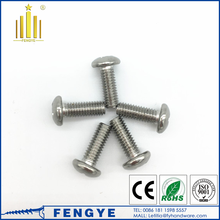 Stainless steel A2 A4 pan phillips full thread machine screw