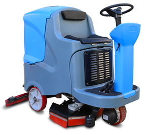 MN-V7 Electric Concrete Scrubber Cleaning Machine