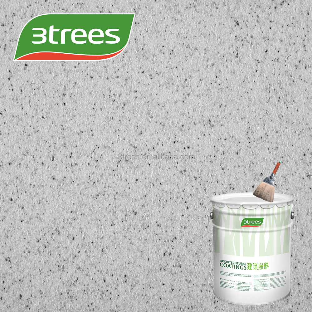 3TREES High Performance Eco Healthy Texture Stone Paint for Interior&Exterior