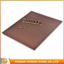 China GuangDong sand blasting for stainless steel mirror finish for interiors