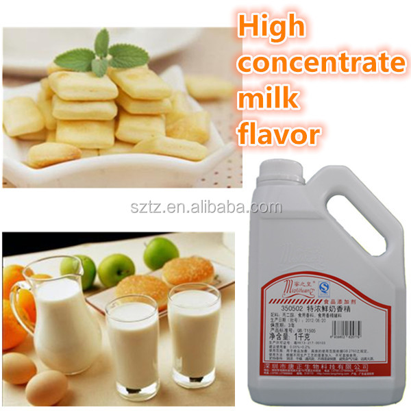 Haccp certified food flavor/food additives/ cake emulsifier/dairy flavor/baking ingredients/milk flavor