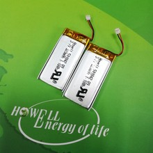 UL Approved 3.7V 320mAH 501842 Rechargeable Lithium Polymer Battery For Electronic Device