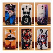 Fashion 0.5mm Ultra Thin Soft TPU Case For Samsung Galaxy S4 i9500 SIV Phone Cases Back Cover Tiger Lion Dog Butterfly Panda
