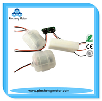 Flat shape housing low voltage 2.4v dc electric small battery motor FS-380SA-4037