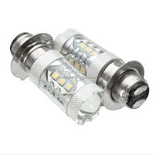 High Bright PX15D 16LED 6500K Motorcycle Fog Driving DRL Headlight Led Light Bulb H6 P15D