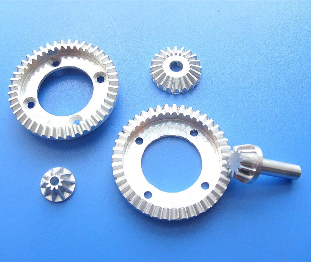 Custom Cnc Hobbing Steel 45#/Aluminium/Stainless Steel Helical Gear Wheel/Spur Gears