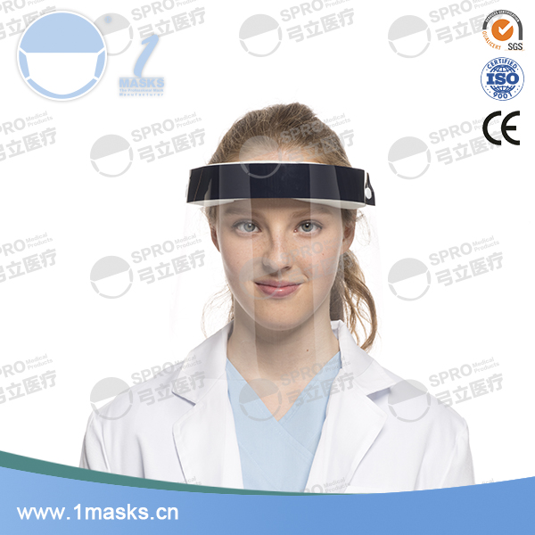 Hot selling medical anti-fog protection surgical dental face shield