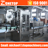 Reliable supplier full auto plc control medium speed small bottle heat tunnel shrink tube labeling machine