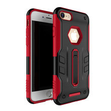 mobile accessories 2 in 1 kickstand hybrid cover robot combo wholesale cell phone case for iphone 7