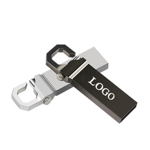 Metal Mini Stainless Steel waterproof keychain usb 2.0 memory flash stick pen drive 8GB 64GB
