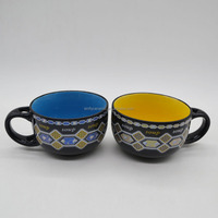 Factory price porcelain ceramic soup mug coffee mug