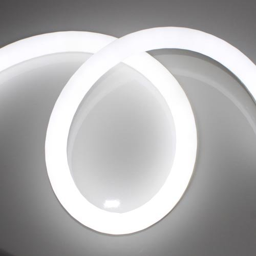 new replacement 12v round flex led neon light for building outline