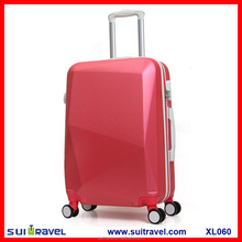 China Factory abs carry on hard shell travel luggage