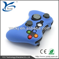 promotional price ! silicone case cover skin for microsoft xbox /green durable silicone for xbox360 controller skin