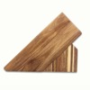 Acacia wood Universal Knife Block Holder Without Knives