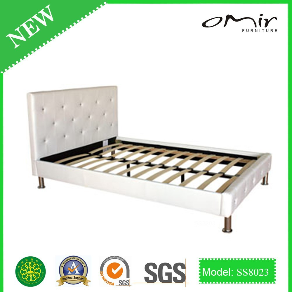single double cheap prodo leather bed