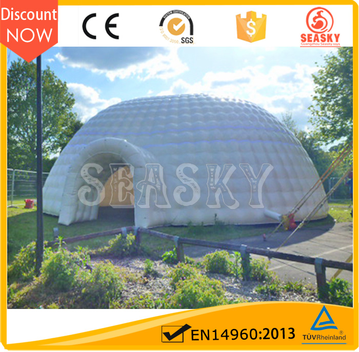 25 diameter large inflatable dome tent house for outdoor activities gran domo