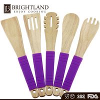 China Wholesale Cooking Wooden Kitchen Utensils