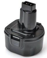 Replacement Dewalt power tool battery for Cordless Drill battery 9.6V DE9036, DE9061,DE9062, DW9061,DW9062