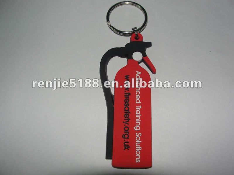 Special pvc rubber keychain for promotional gift